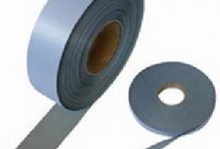 Dây vải phản quang màu ghi 3,5cm (100m)