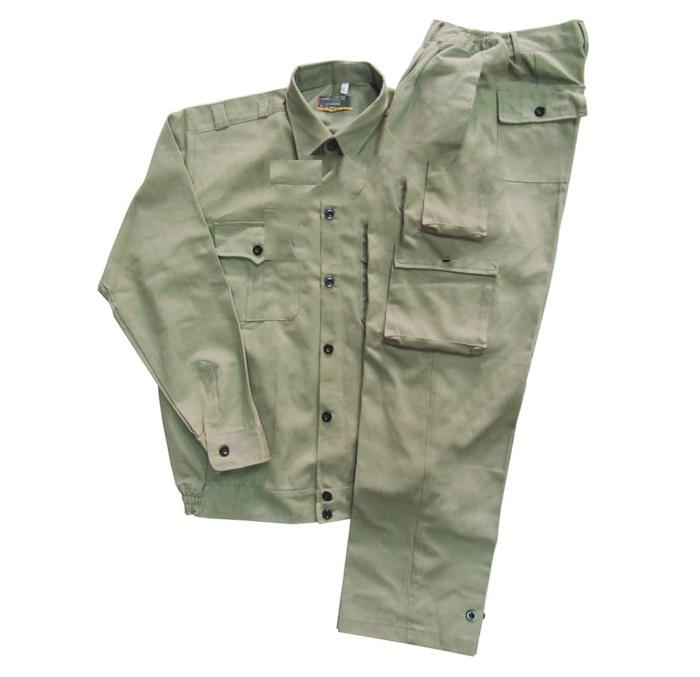 Quần áo bảo hộ lao động túi hộp vải kaki cotton